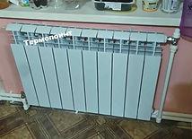 двухтубное подключение радиаторов