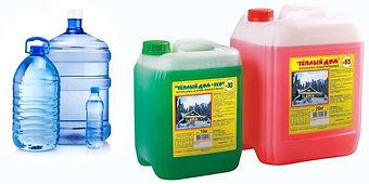 вода или антифриз для системы отопления.