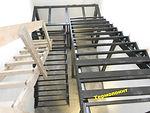 лестница металлическая с площадкой