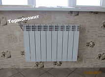 монтаж радиатора1