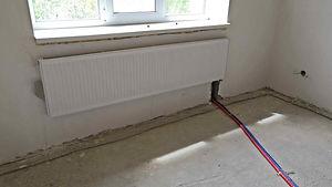 нижнее подключение радиатора с выходом т