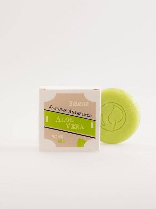 Jabón Artesanal de Aloe Vera 100% Natural