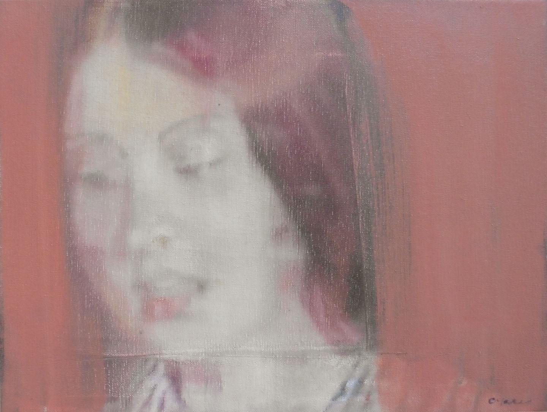 Choirgirl, 30x40cm, oil on canvas