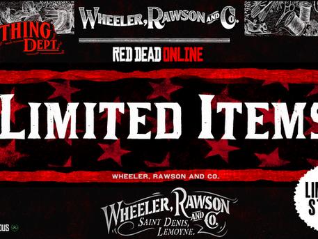 Wheeler Rawson & Co. LIMITED ITEMS