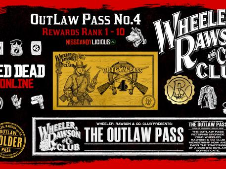 WR&Co Club Rewards - OutLaw Pass no.4 Rank 1-10