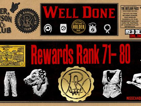 Rank 71-80 Outlaw Pass 5 Rewards