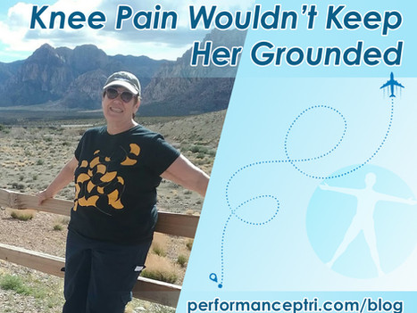 Knee Pain Wouldn't Keep Her Grounded