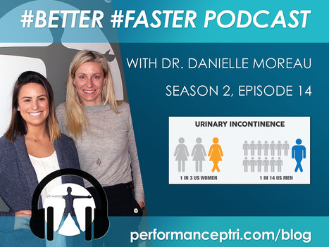 #Better #Faster Podcast- Dr. Danielle Moreau- Urinary Incontinence