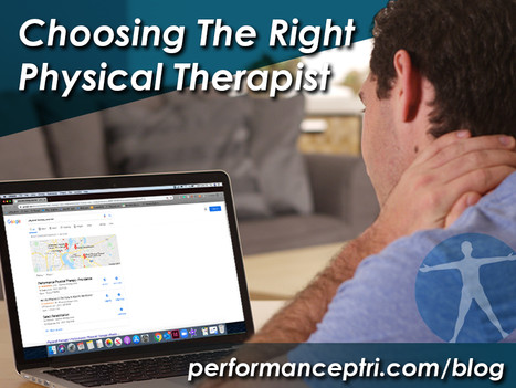 Choosing The Right Physical Therapist