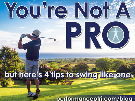 You're Not A Pro, But Here Are 4 Tips To Swing Like One