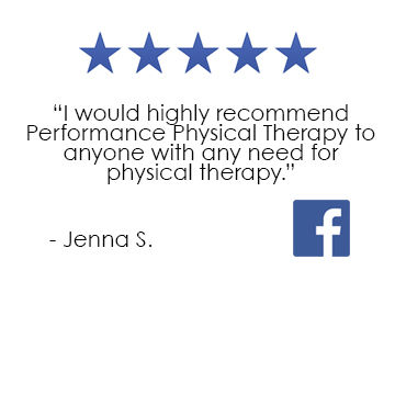 Performance Physical Therpy Providence RI Facebook Review