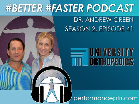 #BETTER #FASTER Podcast - Dr. Andrew Green - The Rotator Cuff