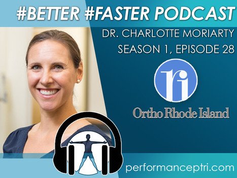 #BETTER #FASTER Podcast- Dr. Charlotte Moriarty - Primary Care Sports Medicine