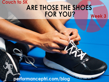 Couch to 5K Week 3: What Running Shoes Are Right For You?