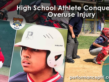 High School Athlete Conquers His Overuse Injury