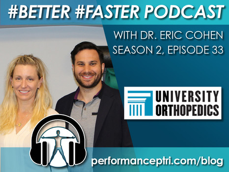 #BETTER #FASTER Podcas- Dr. Eric Cohen - Hip and Knee Osteoarthritis