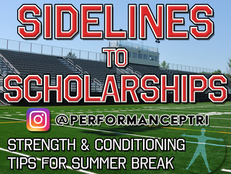 Sidelines To Scholarships
