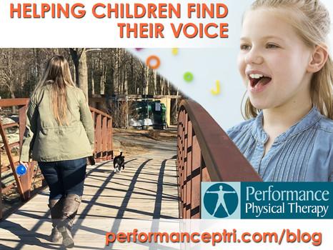 Helping Children Find Their Voice