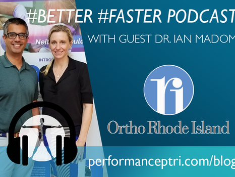 #BETTER #FASTER Podcast- Dr. Ian Madom- Neck Pain