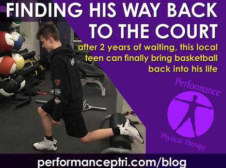 Finding His Way Back to the Court
