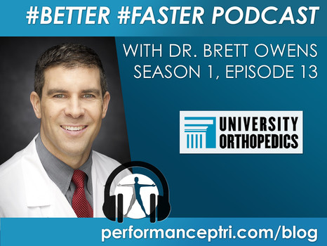 #BETTER #FASTER Podcast- Dr. Brett Owens- Shoulder Instability