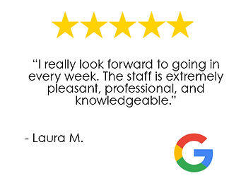 Performance Physical Therapy Middletown RI Google Review