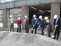 Groudbreaking of New Perforamnce Clinic in Pawtucet RI