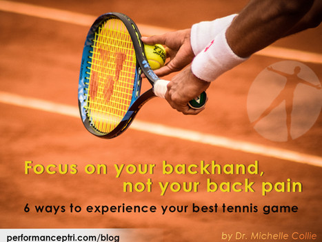 Focus on Your Backhand Not Your Back Pain