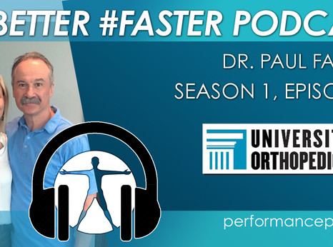 #BETTER #FASTER Podcast- Dr. Paul Fadale- Healthcare