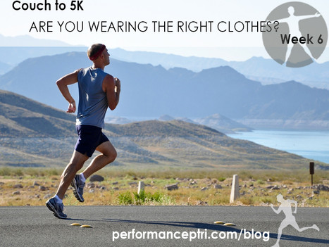 Couch to 5k Week 6: Are You Wearing Proper Running Clothes?