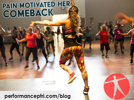 Pain Motivated her Comeback