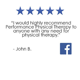 Performance Physical Therapy East Greenwich Facebook Review