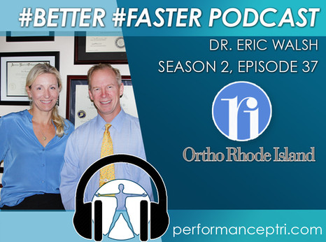 #BETTER #FASTER Podcast- Dr. Eric Walsh- The Hand