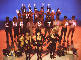 Happy Birthday Mr Christian