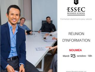 Réunion d'information pour la 6ème promo de l'ESSEC !