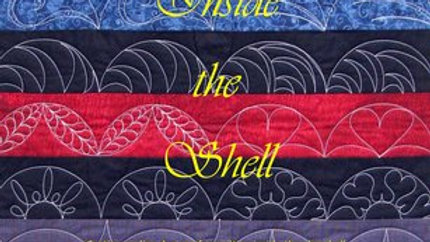 Inside the Shell  Continuous line designs for quilting inside the clamshell