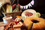 mesa-milho-bolo-amendoim-comidas-festa-j