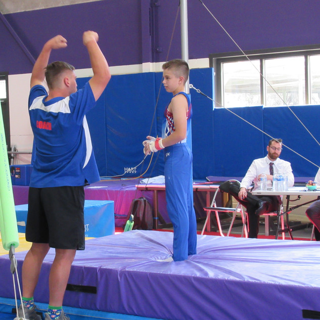 Woden Valley Gymnastics MAG 12