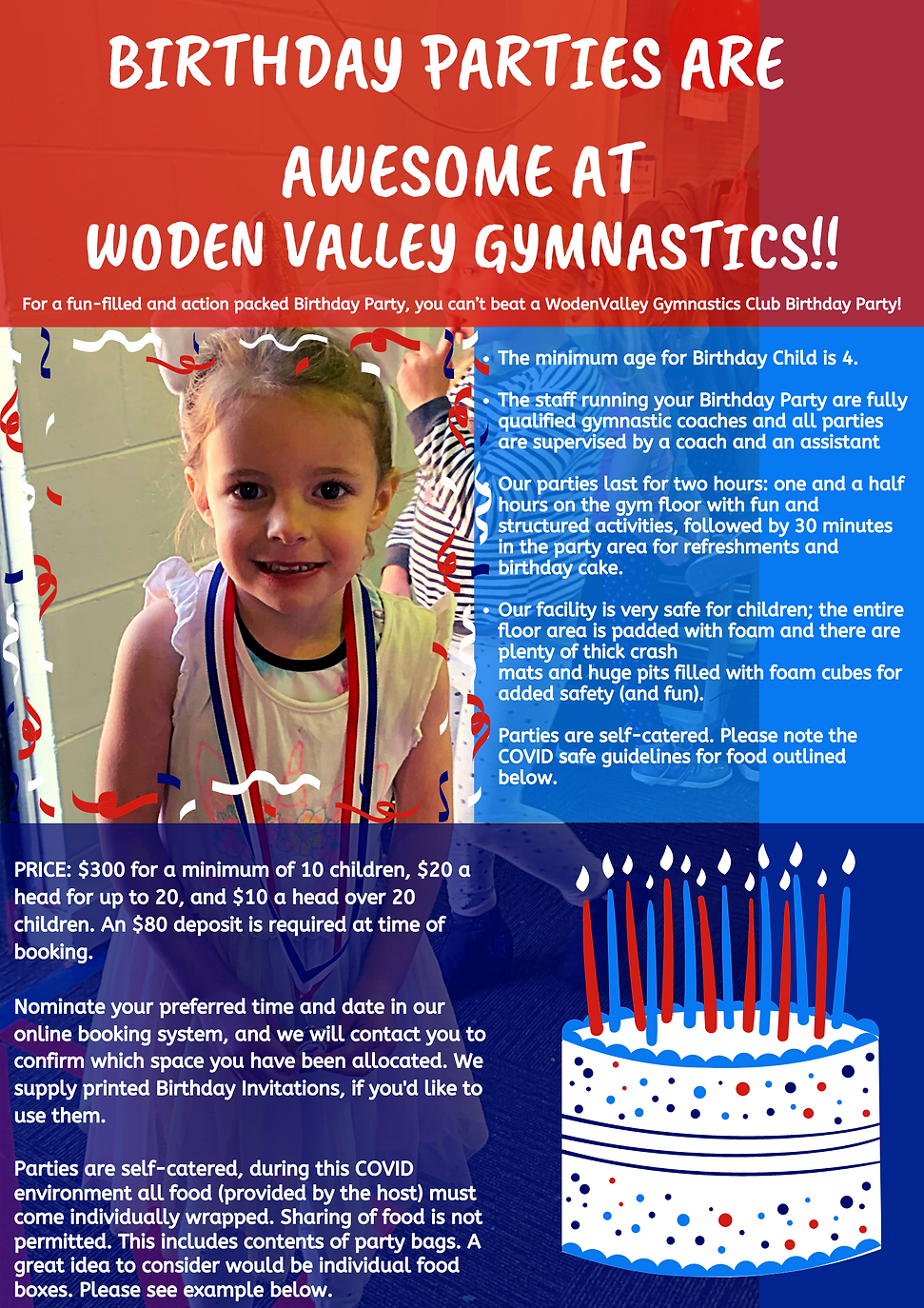 Birthday Parties are awesome at Woden Va