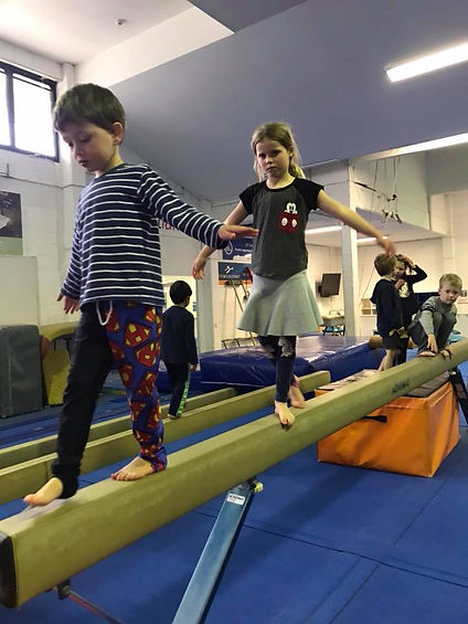 Woden Valley Gymnastics Club kids classes