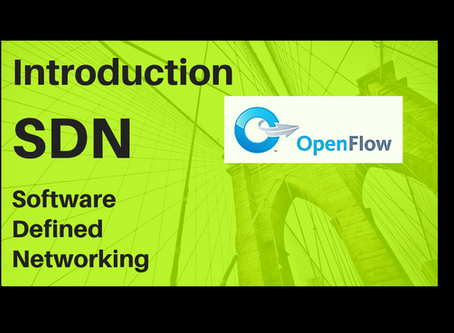 03. Introduction to SDN – Software defined network