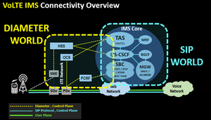 VoLTE IMS Connectivity Overview