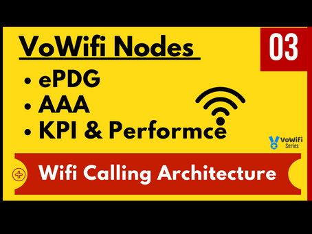03 - VoWifi ePDG AAA and Architecture (New)