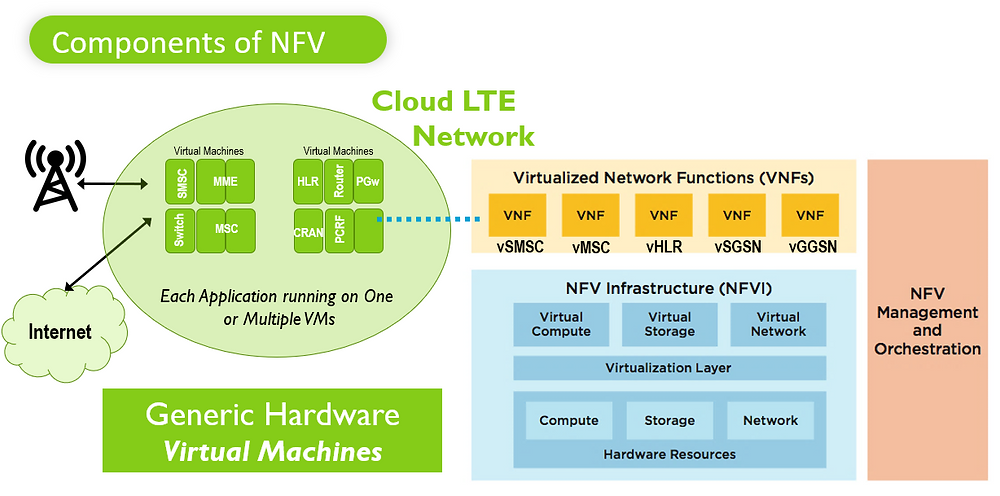 NFV05 Components of NFV