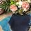 Thumbnail: Sciarpa in lana blu/turchese
