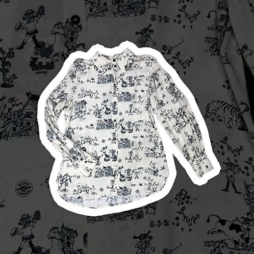 Camicia collezione Pippicalzelunghe color panna