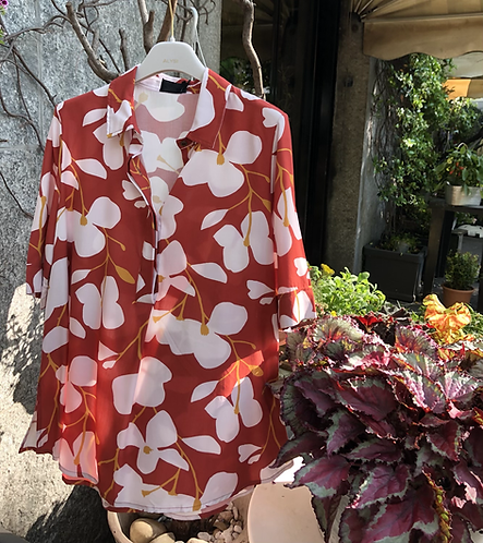 Camicia voile japan