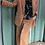 Thumbnail: Camicia Alysi twill ribbon spacchi i seta color nero