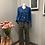 Thumbnail: Pantalone Galles tramato ampio cobalto Alysi
