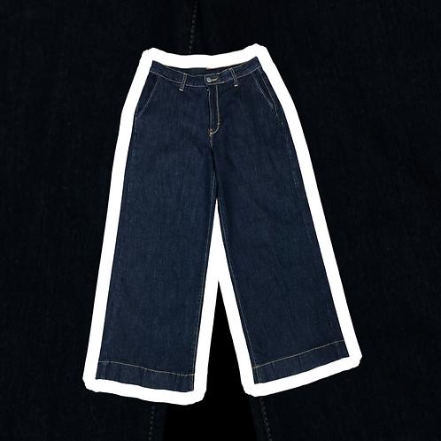 Jeans taglio palazzo